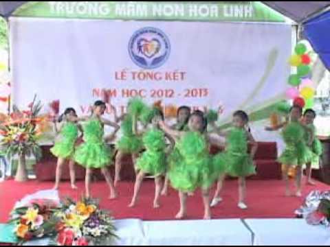 Mam Non Hoa Linh   TP Hai Duong   nhảy aerobic   con cao cao 2