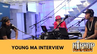 Young MA Interview With DJ Envy Talks Meeting 50 Cent, Single Ooouuu & More!