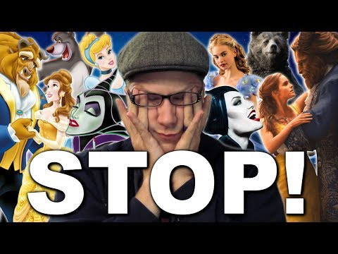 Why I Hate Disney's Live Action Remakes - A Frustrated Geek's Ramble