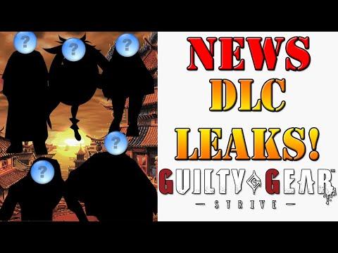 Data mining reveals & leaks Guilty Gear Strive Season 1 DLC Roster!