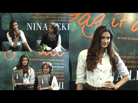 Nina Lekhi Book Bag It All Launch By Athiya Shetty & Mana Shetty