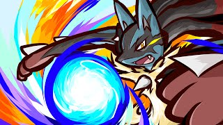 LUCARIO COMBOS ARE SO REAL!