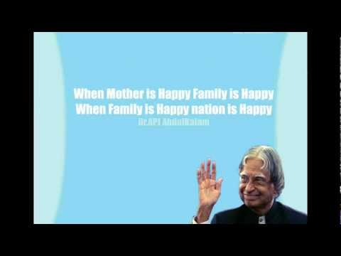 Abdul Kalam Quotes – Motivational Quotes of India's former president Dr. A.P.J Abdul Kalam