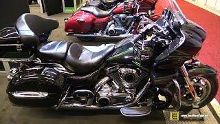 7. 2017 Kawasaki Vulcan 1700 Voyager - Walkaround - 2017 Montreal Motorcycle Show