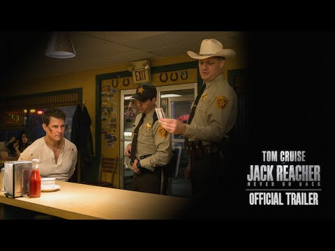 Jack Reacher Never Go Back Trailer starring Tom