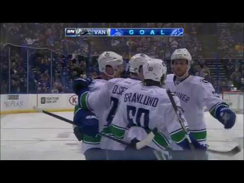 Video: Scottrade Center in uproar after Henrik, Daniel help Canucks tie it up