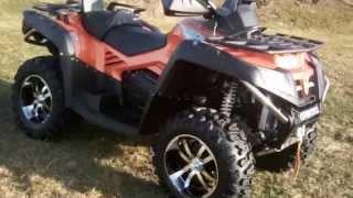 10. CF Moto CFMoto CForce XDuty DLX EPS Terralander EFI 800 ATV Qua
