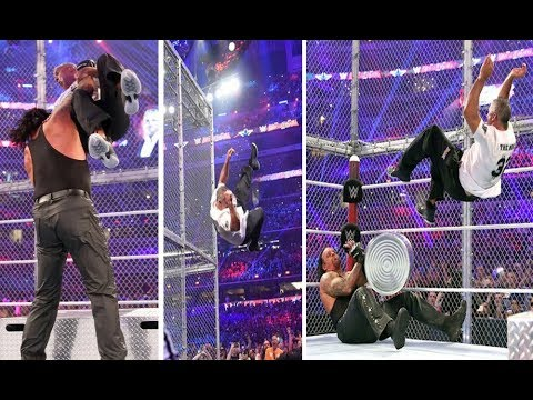 Shane McMahon vs The Undertaker - Hell In A Cell Match - WrestleMania 32