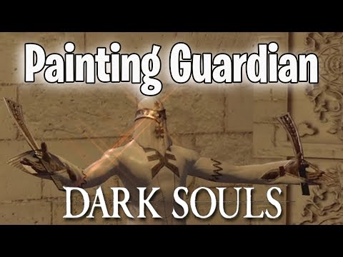 Painting Guardian Trolling - Dark Souls Remastered