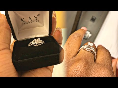 GAVE HER A PROMISE RING!💍😍