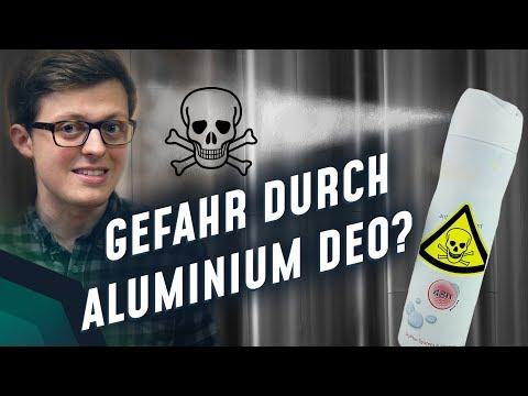 Wie gefährlich ist Aluminium in Deos?