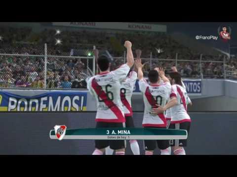River Play - Gol de Mina en el Superclásico