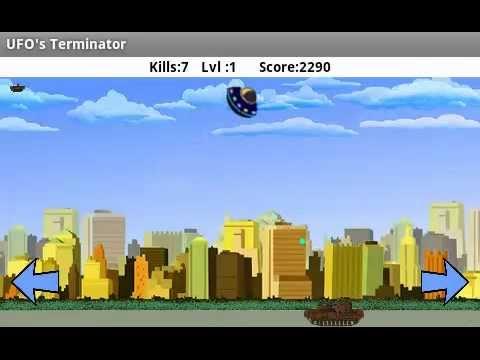 Video of Alien Destroyer