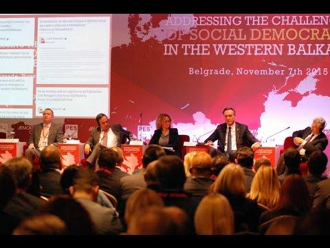 Панел Кроз дијалог до солидарности на конференцији Изазови социјалдемократије у региону