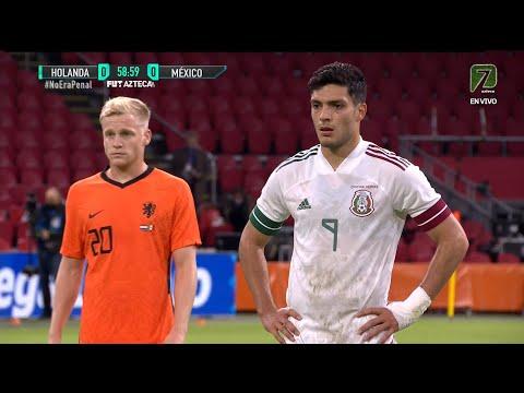 HOLANDA VS MEXICO 0 - 1 Amistoso 07 OCT 2020