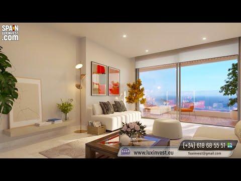 Новые пентхаусы, квартиры в Бенидорме/Недвижимость в Испании/Элитный комплекс 250м до лучшего пляжа