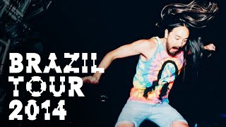 Brazil Tour 2014 - On the Road w/ Steve Aoki #135