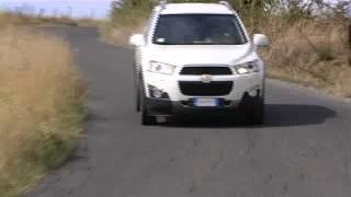 CHEVROLET CAPTIVA 2012 - TEST DRIVE