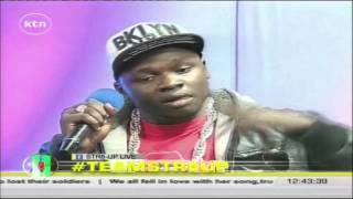 The Legend and the King: Rappers Kantai and Khaligraph on their new collabo song