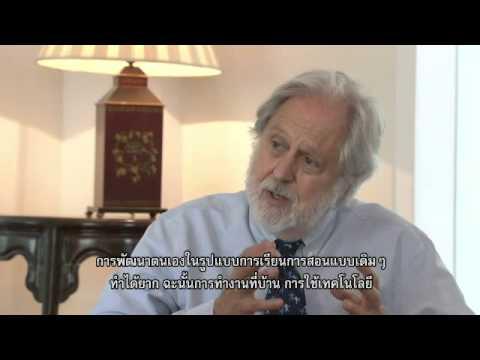 Lord Puttnam in Thailand