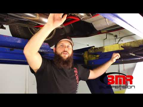 BMR Suspension 3rd and 4th Gen F-Body Driveline Angle Instructional Video