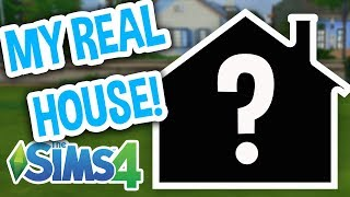 MY REAL APARTMENT IN THE SIMS! | The Sims 4 House Tour!