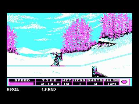 Winter Games for the PC Booter
