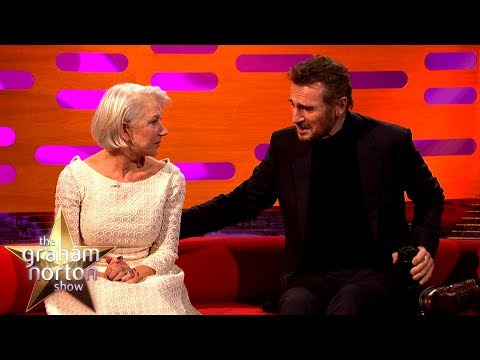 Liam Neeson on the first time he met his ex-girlfriend Helen Mirren
