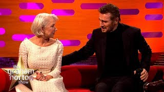 Video Helen Mirren Reunited with Ex-Boyfriend Liam Neeson   The Graham Norton Show MP3, 3GP, MP4, WEBM, AVI, FLV Januari 2018