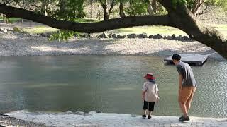 【とうおん親子の遊び場】毎日が冒険!「今日は、池の公園!」