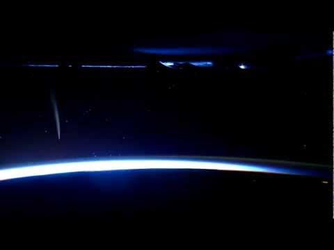 Space Station Commander Captures Unprecedented View of Comet
