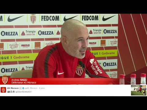 Conférence de presse, Yzeure - AS Monaco