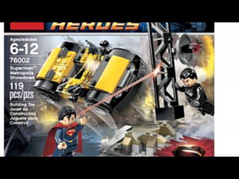 Video Check out the latest YouTube of Superheroes 76002 Superman Metropolis