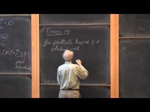 002 Dirac Notation und die Energie Vertretung