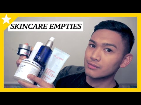 SKINCARE EMPTIES! Products that I've finished up - ohitsROME