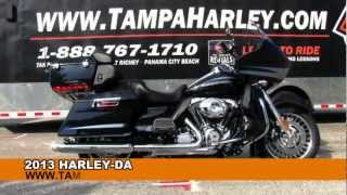 1. New 2013 Harley Davidson Road Glide Ultra FLTRU - review specs price