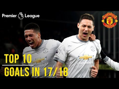 Manchester United Season Review: Top 10 Goals! | Season 2017/18
