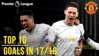 Video Manchester United Season Review: Top 10 Goals! | Season 2017/18 MP3, 3GP, MP4, WEBM, AVI, FLV Agustus 2019