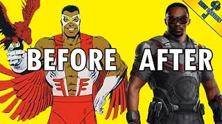 Video The 10 Best Comic-to-Film Character Redesigns MP3, 3GP, MP4, WEBM, AVI, FLV Oktober 2018