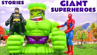 Giant Superheroes