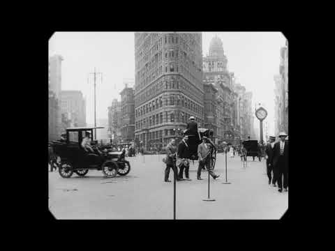 1911 A Trip Through New York City