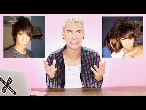 Hairdresser reacts to my own hair fails