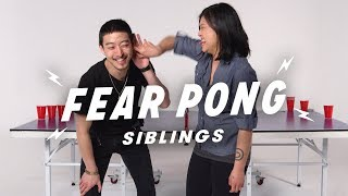 Video Brother vs. Sister  (Alstein & Stephanie)   Fear Pong   Cut MP3, 3GP, MP4, WEBM, AVI, FLV Oktober 2018