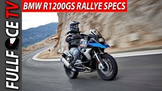 6. 2017 BMW R1200GS Rallye Top Speed and Specs