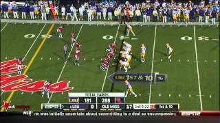 Charles Sawyer vs LSU (2013)