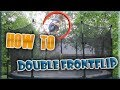 HOW TO DO A DOUBLE FRONTFLIP ON TRAMPOLINE (easy way)