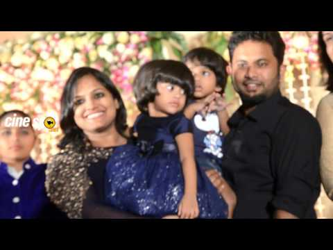 Video Aju Varghese and family  at Dhyan Srenivasan Wedding Reception download in MP3, 3GP, MP4, WEBM, AVI, FLV January 2017