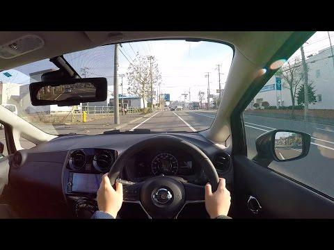 คลิปเทสไดร์ฟ All New Nissan Note 2017 MEDALIST e-POWER จากญี่ปุ่น