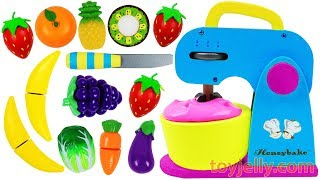 Video Learn Fruits & Vegetables with Toy Mixer Playset & Wooden Velcro Cutting Toys for Kids Preschoolers MP3, 3GP, MP4, WEBM, AVI, FLV Desember 2018
