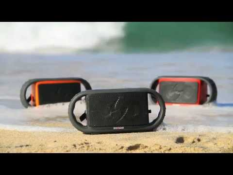 ECOXGEAR! The world's first waterproof/bluetooth speaker! Arriving End of May! Reserve yours now!